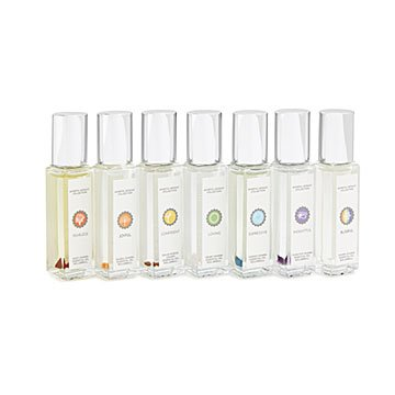 Crystal-Infused Chakra Essential Oils Set