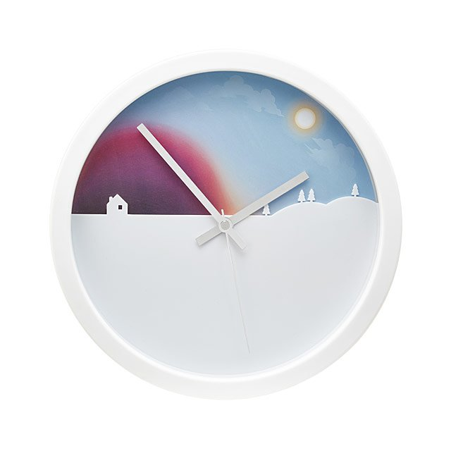 Unique Clock | Day To Night Rotating Clock Unique Clocks Wall Clocks Uncommongoods