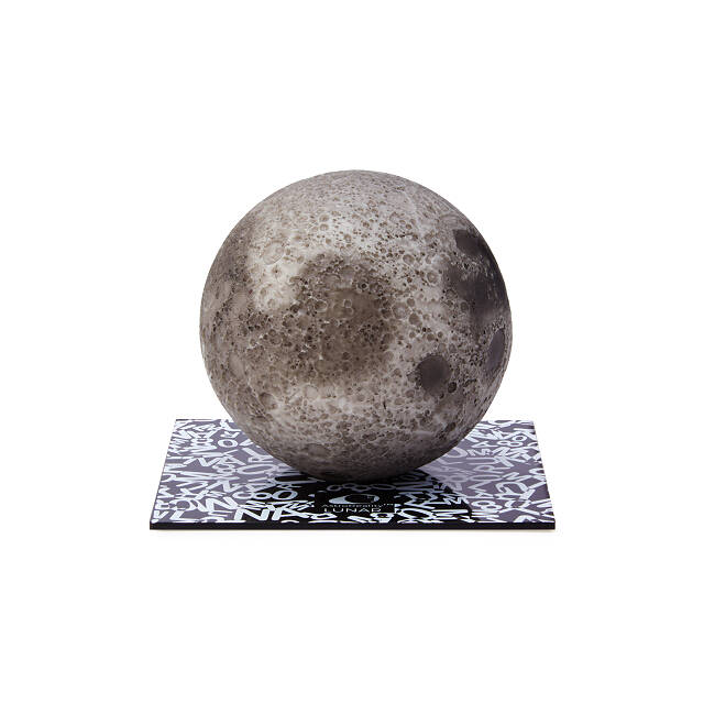 Interactive Moon Sculpture
