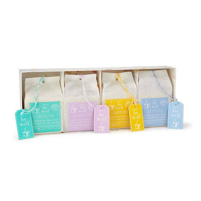 K'Mich Weddings - wedding planning - gifts for MOB - tea bag soap set - set of 4 - uncommon goods