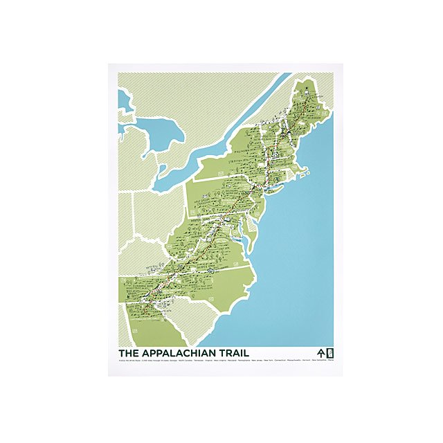Secrets of America's Trails Maps | hiking maps | UncommonGoods