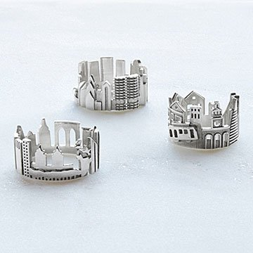 Choose Your Cityscape Ring Collection