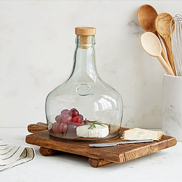 Reclaimed Cheeseboard & Cloche