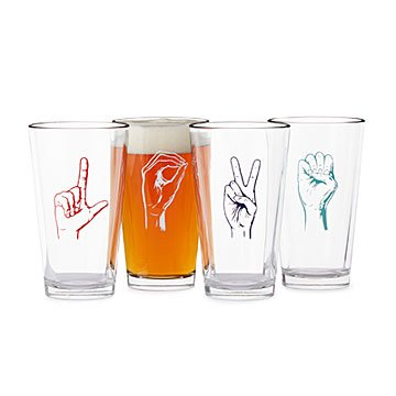 Love Language Tumblers - Set of 4