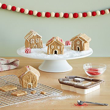 Tiny Gingerbread Village Baking Kit
