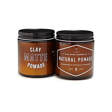 Men's Pomade and Clay Set