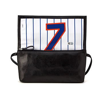 MLB Game Used Uniform Handbag