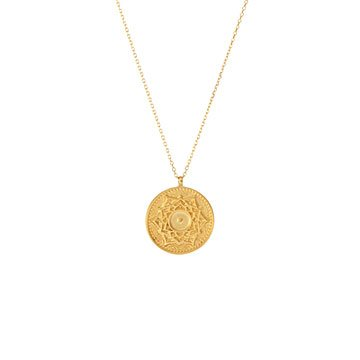 Mandala Golden Harmony Necklaces