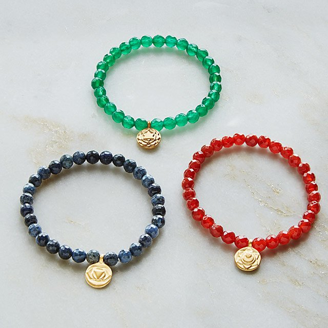 I Am Chakra Bracelets Mindful Jewelry Uncommongoods