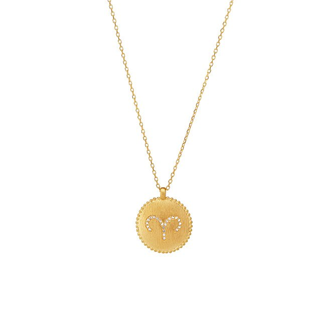 Bejeweled Zodiac Necklaces