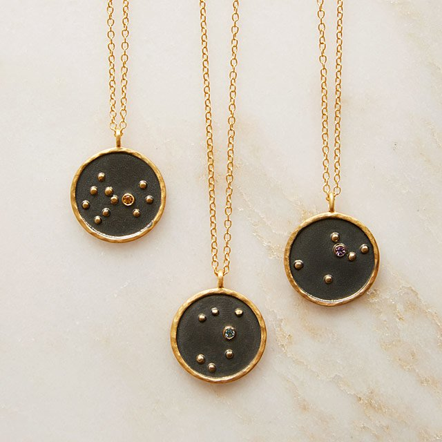 Birthstone Constellation Necklaces