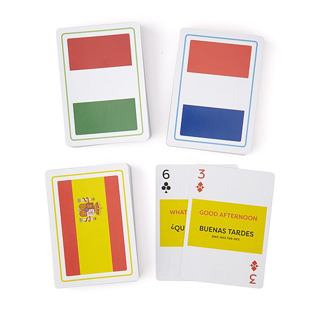 Language Playing Cards