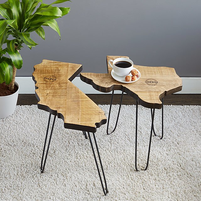 State Side Table by Uncommon Goods