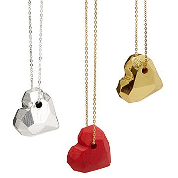 All Of My Love Hexagon Heart Necklaces