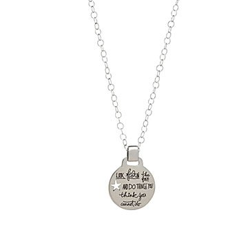 Fear Nothing Eleanor Roosevelt Necklace