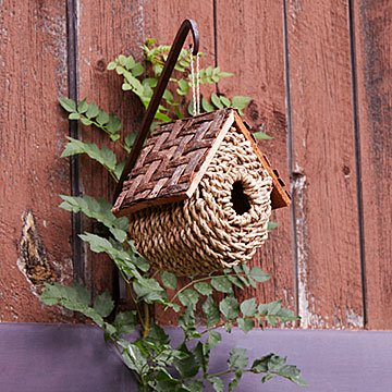 Wicker Bird Bungalow