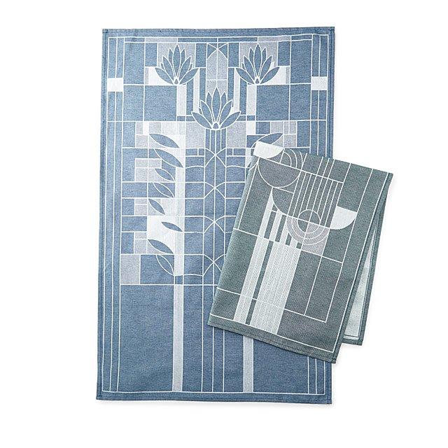 Frank Lloyd Wright Tea Towel Kitchen Towels Dish Towels