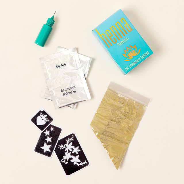 Natural Henna Temporary Tattoo Freestyle Kit
