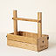 Personalized Picnic Table Wine Carrier 2 thumbnail