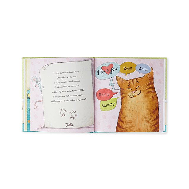 Personalized If My Cat Could Talk Book
