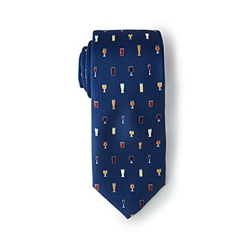 Beer Glasses Neck Tie