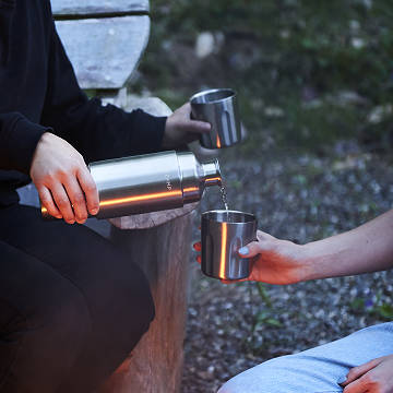 On-the-Go Insulated Flask & Tumblers