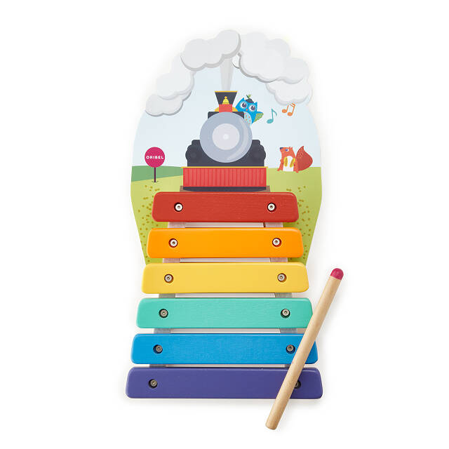 Music Rail Track Wall Toy