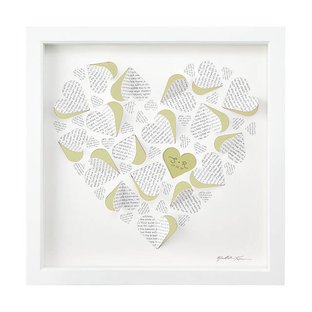 Poetic Love Personalized Art