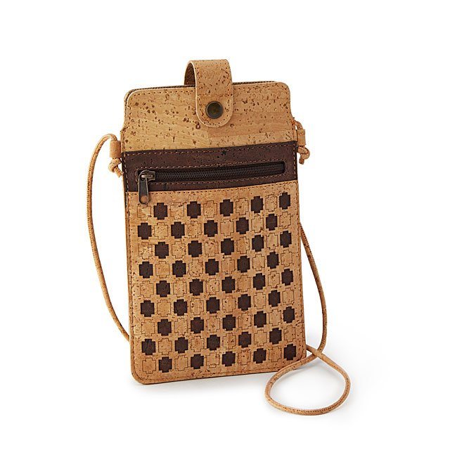 Cork Crossbody Phone Bag