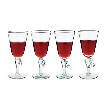 Safari Wine Glasses – Set of 4