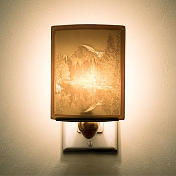 Yosemite Half Dome Porcelain Nightlight