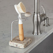 Sea Stone Dish Brush Holder