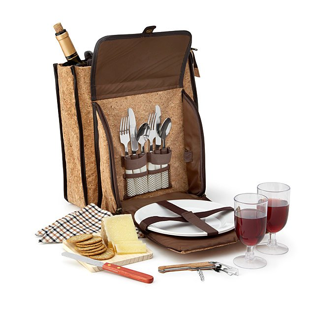 Cork Wine & Cheese Tote