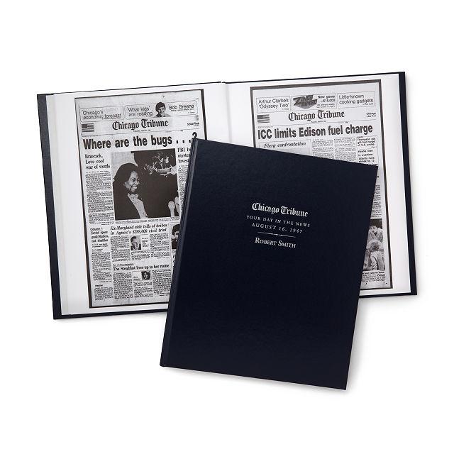 Chicago Tribune Custom Birthday Book | Newspaper Birth Date, Custom