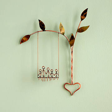 Rooted in Love Swing Sculpture