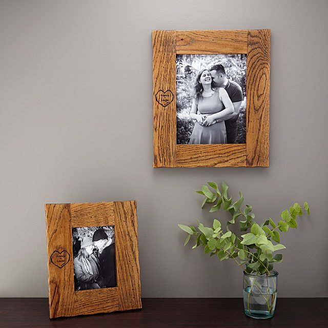 Personalized Tree Of Love Photo Frames Wedding Pictures