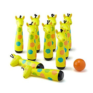 Giraffe Mini Bowling Game