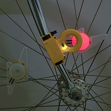 Flashing Bike Light Kit