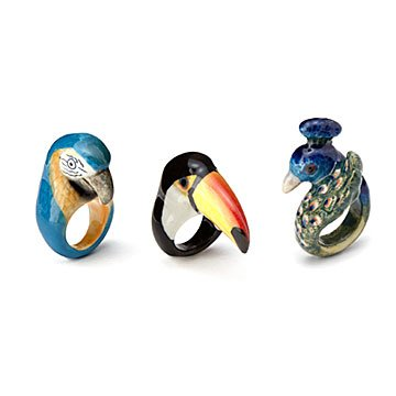 Birds Of A Feather Ring Collection