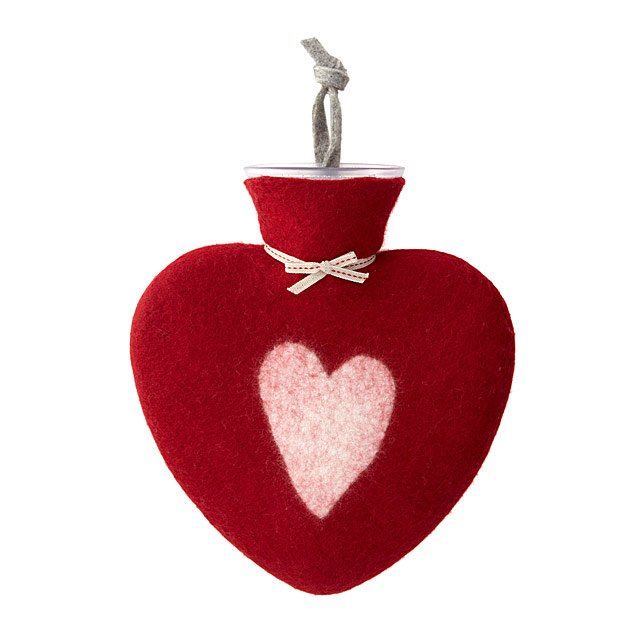 Cozy Heart Hot Water Bottle