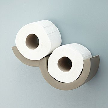 Cloudy Day Toilet Paper Storage | toilet paper holder