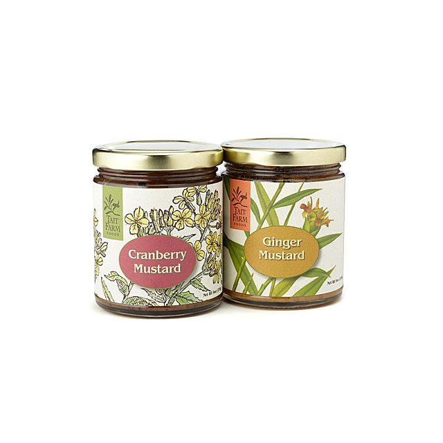 Cranberry & Ginger Mustard Duo