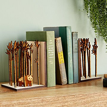 Bamboo Forest Bookends