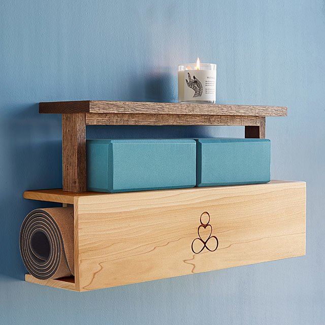 Yoga Mat Storage and Display