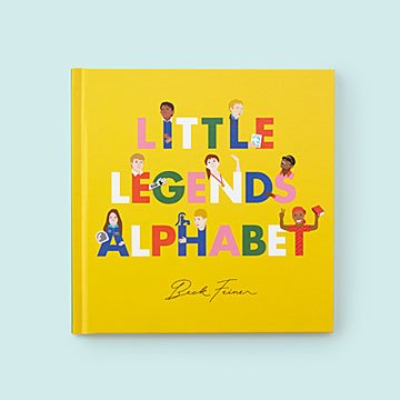 Little Legends Alphabet Book
