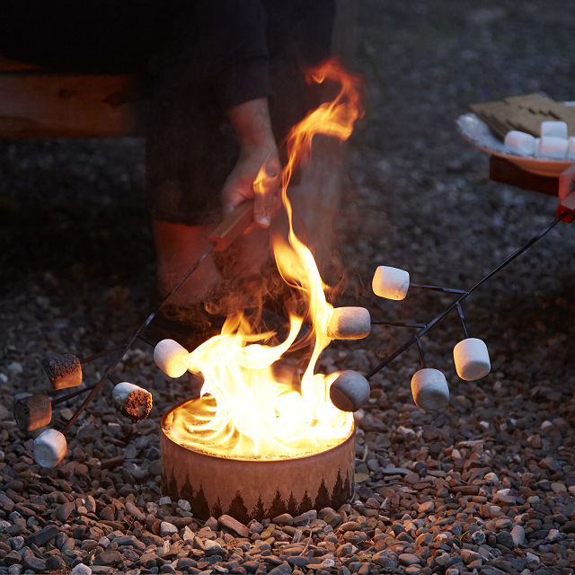 Portable Campfire | Radiate, Fire Pit | UncommonGoods