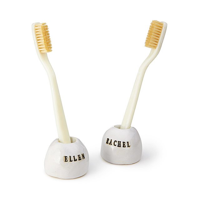 Personalized Toothbrush Holder Set