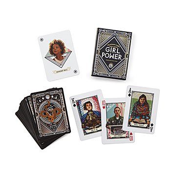 Girl Power Playing Cards