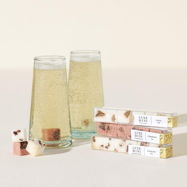 Minute Mimosa Sugar Cube Trio | Brunch Drink, Ideas, Menu