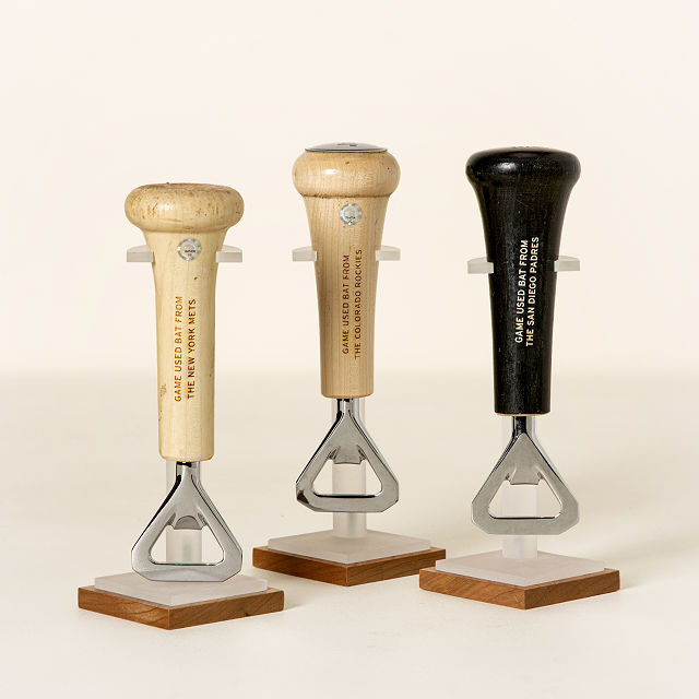 MLB Game Used Baseball Bat Handle Openers